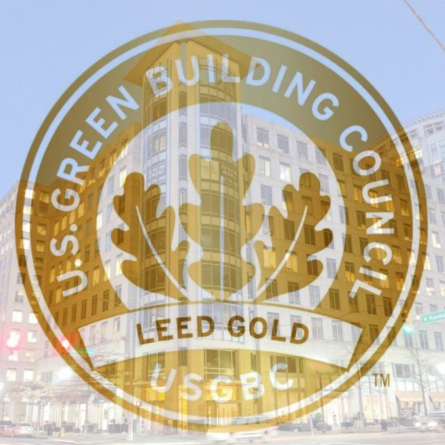 Two Liberty Center Receives Leed Gold Certification Shooshan Company