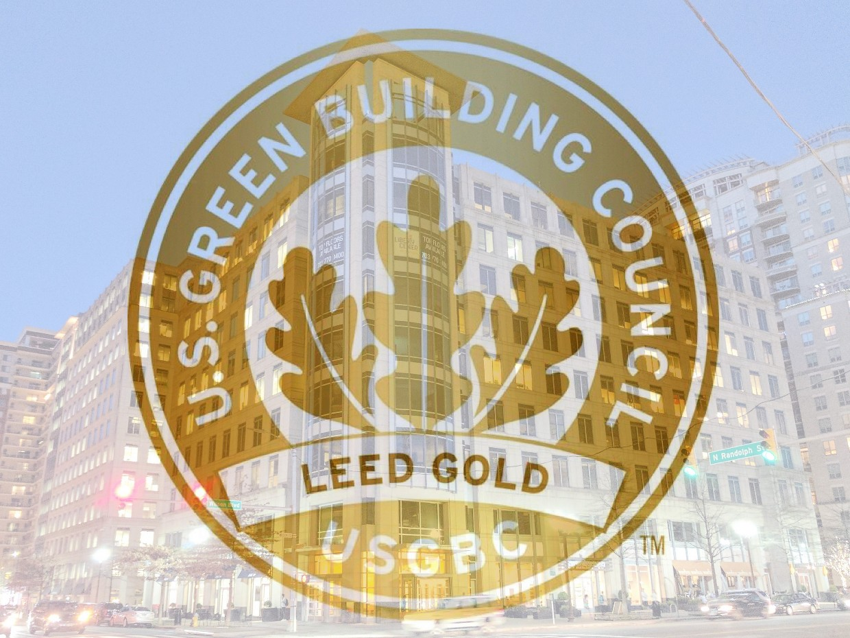 Leed Gold Certification Two Liberty Center Shooshan Company
