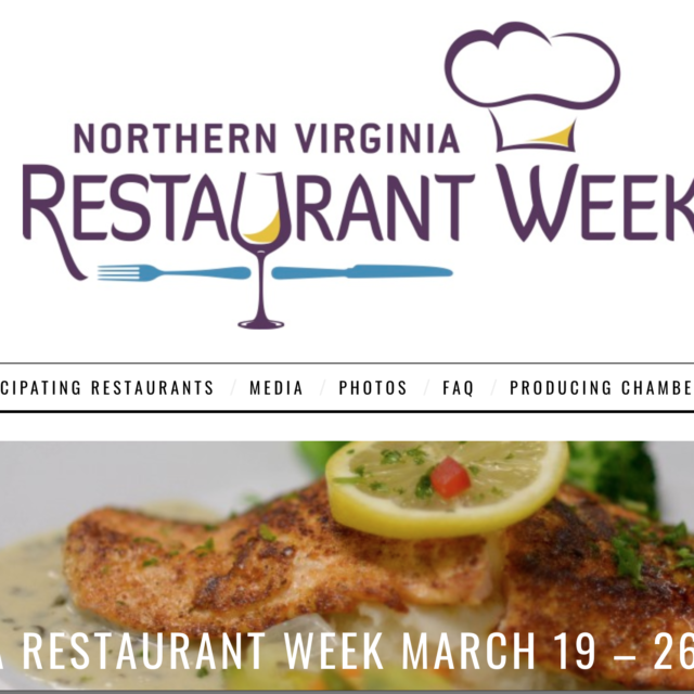The 2018 Northern Virginia Restaurant Week Taking Place March 19 26 Will Feature Many Delicious Elishments In Arlington Here Is Full